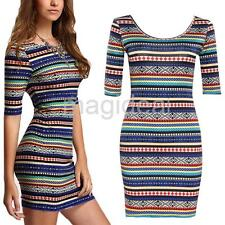 Sexy Womens Slim Bandage Bodycon Dress Ladies Evening Cocktail Party Dresses