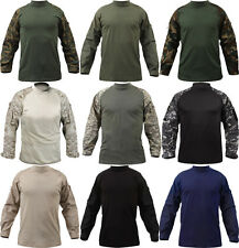 Military Heat Resistant Tactical Long Sleeve Lightweight Combat Shirt