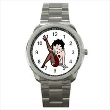 Betty Boop Stainless Steel Watches
