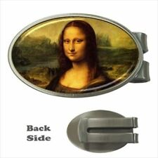 Leonardo Da Vinci Mona Lisa Chrome Money Clip