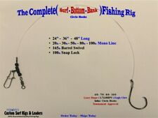 10 ... The Complete ( Bottom Bank ) Surf Fishing Rigs - Striper Striped Bass