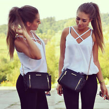 Hot Women Summer Vest Top Sleeveless Shirts Blouse Casual Tank Tops T-Shirt