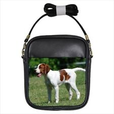 Irish Red and White Setter Leather Sling Bag & Women's Handbag - Dog Canine
