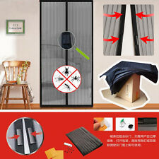 Mesh Mosquito Insect Fly Bug Door Curtain Net Netting Mesh Screen Magnets LO