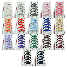 "Oval Sneakers Shoelaces Athletic Shoelaces 36"",45"" 17 Color Shoelaces  1 Pair"