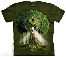 Yin Yang Tree T-Shirt From The Mountain- Adult S - 5X