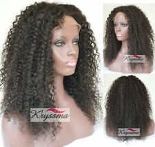 Natural Looking Indian Curly Remy Hair Best Lace Front Human Hair Wigs For Women