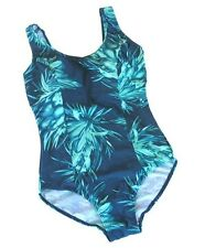 P106 New Ladies Size UK 14 16 18 20  24 Slimmy Swimsuit Swimwear Cossie