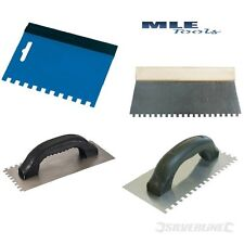 Silverline Floor wall tile adhesive glue Spreader Comb Trowel soft grip wooden