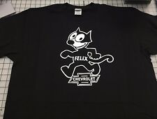 FELIX THE CAT T SHIRT FELIX CHEVROLET DEALER T SHIRT FELIX THE CAT FELIX THE CAT