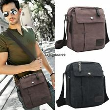 Canvas HOT Mens Vintage School Travel Shoulder Satchel Messenger Bag EO526 OO55