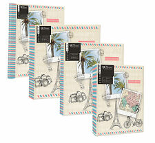 """Holiday Travel Journey Photo Albums, 4 Designs - 6x4"""", 7x5"""" or Self Adhesive"""