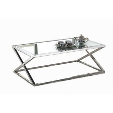 Everest Life Coffee Tables NEW Stainless Steel Coffee Table