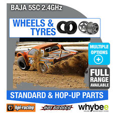 HPI BAJA 5SC 2.4GHz [Wheels & Tyres] Genuine HPi 1/5 R/C Scale!