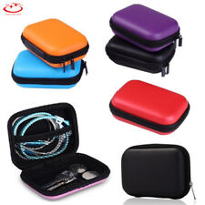 Portable Hard Case Storage Pouch Bag for Earphone Headphone Earbuds Coin Key
