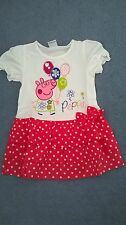 Peppa Pig party dress NEW  summer dress polka dot dress
