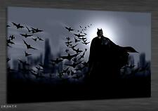 Original Oil Painting HD Print Wall Decor Art on Canvas(Unframed) Batman 1PCS