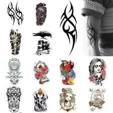 New Hot  Body Tattoo Stickers Temporary Body Arm Stickers Removable Waterproof G