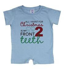 "Unisex-Baby ""All I Want for Christmas"" Onesie Romper (6 to 24 Months)"