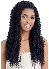 Model Model Glance Kinky Bohemian Hair Extensions 18 Inches for Crochet Braiding