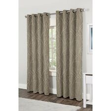 NEW Set 2 Window Curtains Panels Drapes 84 96 Grommet Natural Nature Branches