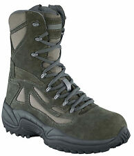 Reebok RB8990 Men's Sage Green Rapid Response RB Combat Boots - New With Box