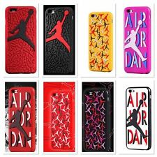 Air Jordan Soft Silicon Sole Case For Apple iPhone  6/6S