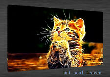 Oil Painting HD Print Wall Decor Art On Canvas,kitty furry paws cute (Unframed)