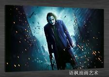 Original Oil Painting HD Print Wall Decor on Canvas,the joker 02 (Unframed) 1PCS