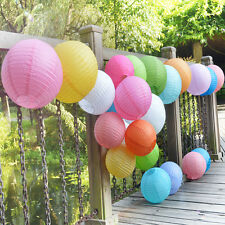 """10PCS/LOT 8"""" 10"""" 12"""" Colorful Chinese Paper Lantern for Wedding Home Party Decor"""