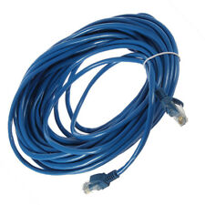 50FT RJ45 CAT5 CAT5E Ethernet Network Lan Router Patch Cable Cord Blue 15M LDTE