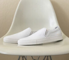 common projects leather white slip on sneakers size EU 42-43 achilles