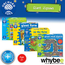 New! Orchard Toys Giant Floor Puzzles Jigsaw - Kids Childrens British Made 3yrs+