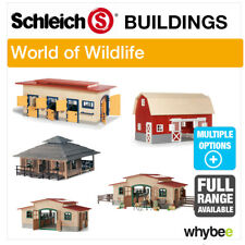 SCHLEICH WORLD OF NATURE FARM LIFE FARM BUILDINGS STABLES BARNS & ACCESSORIES