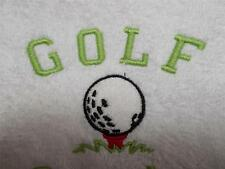 Personalised & Custom Embroidered Golfing Towel Set  Face,Hand&Bath Towels
