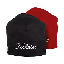 New Titleist Performance Beanie Hat Red or Black
