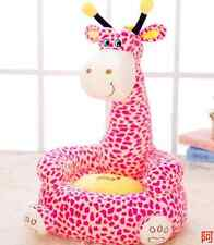 kids sofa Giraffe stuffed animal   cartoon bean sofa chair/Child seat