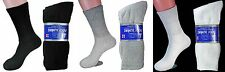 Lot of 3, 6, 12 Pairs Diabetic Crew Circulatory Socks Health Mens/Women Cotton