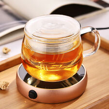 Portable Electric Desktop Coffee Warmer Tea Heater Cup Mug Warmer Warming Trays