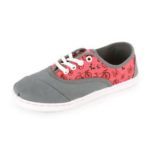 Toms Cordones Youth Trainers in Grey Red