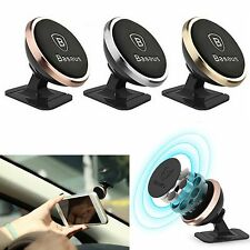 360º Universal Mobile Cell Phone Car Magnetic Dash Mount Holder For iPhone GPS