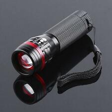 3500 Lumens Zoomable 5-Modes CREE XML T6 LED 18650 Flashlight Torch Lamp lot