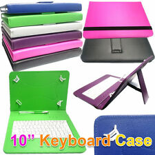 """10.1"""" inch PU Leather Keyboard Case For Motorola Xoom 32GB Wifi Android Tablet"""