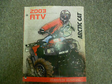 2003 Arctic Cat ATV 250 300 400 500 TBX Automatic Manual Service Repair Manual x