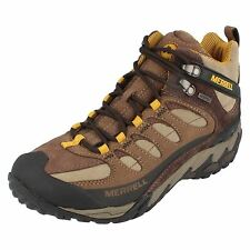 Mens Merrell Lace Up Ankle Boot the Style Refuge Core Mid ~ N