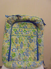 Vera Bradley ENGLISH MEADOW Large Laptop Backpack Bookbag Travel Luggage