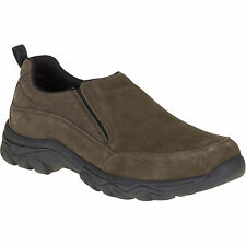 Faded Glory Men's Brown Suede Casual Slip-On Style Sneakers/Shoes: 7-12