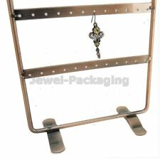Hold 48 Earrings Metal Retail Display Stand Jewelry Holder 15.3x30cmColor Choice
