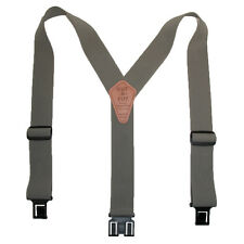 New Perry Suspenders Men's Elastic Ruf-N-Tuf Hook End Suspenders (Tall