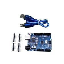 New High Quality ATmega328P CH340G UNO R3 Board & USB Cable for Arduino DIY UC